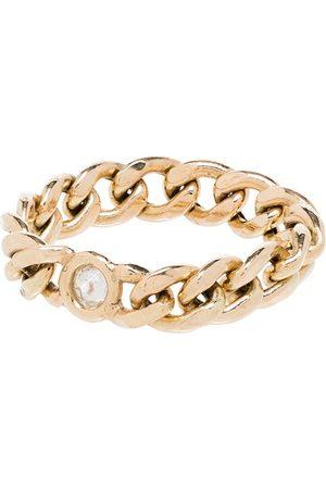 Zoe Chicco Diamantring i 14K gult guld