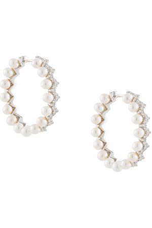 APM Monaco Kvinna Örhängen - öronringar med pärlor