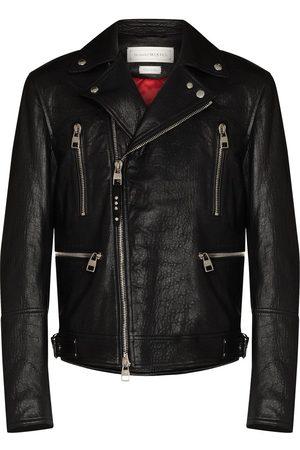Alexander McQueen Skinnjacka i bikermodell