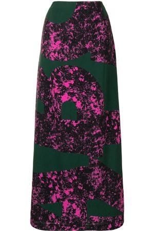 Colville Lång kjol med abstrakt tryck