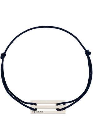 Le Gramme Man Armband - Sterling Le 2.5g cord bracelet