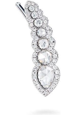 David Morris Rose Cut diamantörhänge