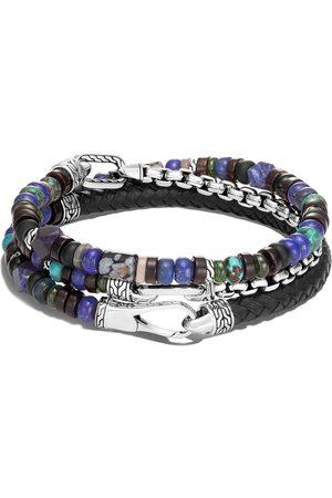John Hardy Man Armband - Armband med silverpärlor