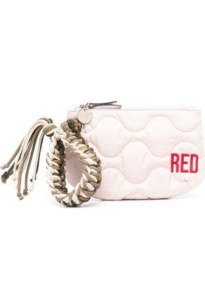 RED(V) Quiltad kuvertväska med logotyp