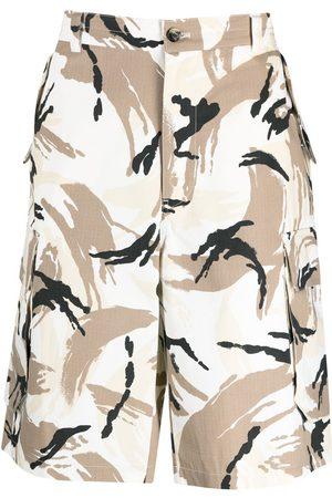 Kenzo Man Bermudashorts - Kamouflagemönstrade bermudashorts
