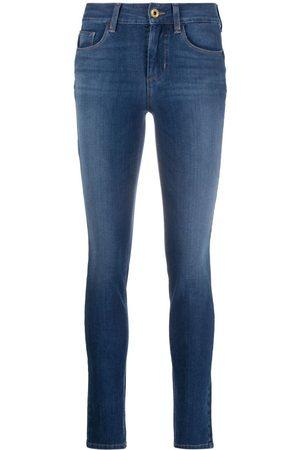 Liu Jo Stentvättade skinny-jeans