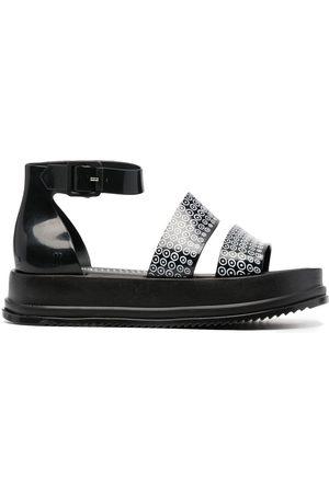 10 CORSO COMO Grova sandaler med monogram