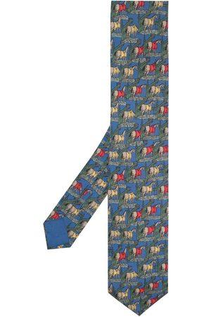 Hermès Man Slipsar - Pre-Owned mönstrad slips från 2000-talet