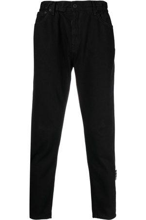 OFF-WHITE Straight-jeans med hög midja