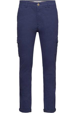 Fram Parcel Cargo Trousers Cargo Pants Blå