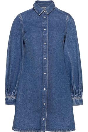 Samsøe Samsøe Kvinna Sommarklänningar - Moonst Dress 13024 Dresses Jeans Dresses