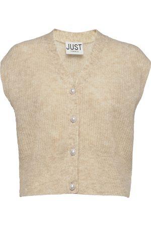 Just Female Kvinna Västar - Girona Knit Vest Vests Knitted Vests
