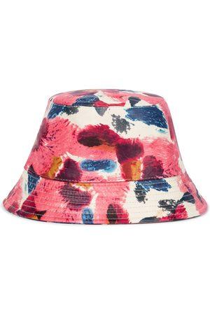 Isabel Marant Kvinna Hattar - Haley floral leather bucket hat
