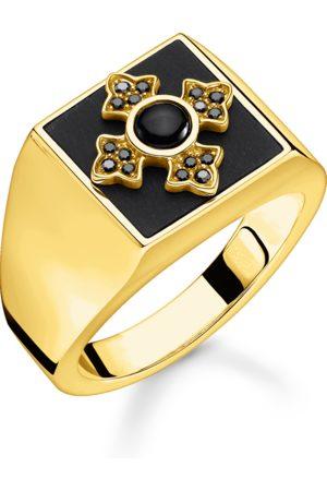 Thomas Sabo Ring Royalty kors guld