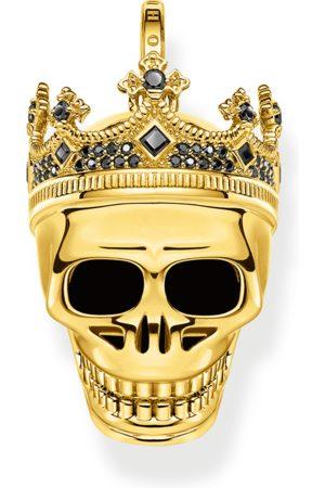 Thomas Sabo Man Armband - Armband dödskallekung guld