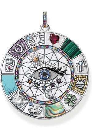 Thomas Sabo Kvinna Halsband - Hängsmycke Amulett magiska lyckosymboler