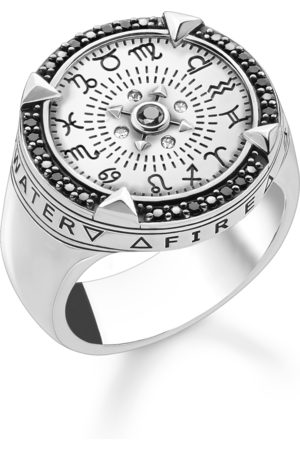 Thomas Sabo Man Ringar - Element av naturen silver