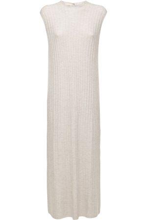 Loulou Studio Kvinna Stickade klänningar - Andrott Wool & Cashmere Knit Long Dress