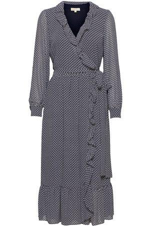 Michael Kors Kvinna Klänningar - Mini Bicolor 60s Flrl Drs Dresses Everyday Dresses Blå
