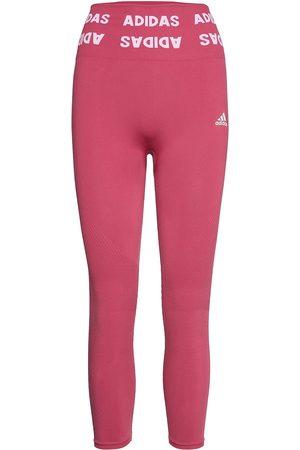 adidas Kvinna Tights - Training Aeroknit 7/8 High-Rise Tights W Running/training Tights Rosa