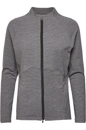 PUMA Kvinna Jackor - W Cloudspun Full Zip Outerwear Sport Jackets Grå