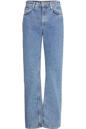 Nudie Jeans Clean Eileen Raka Jeans Blå