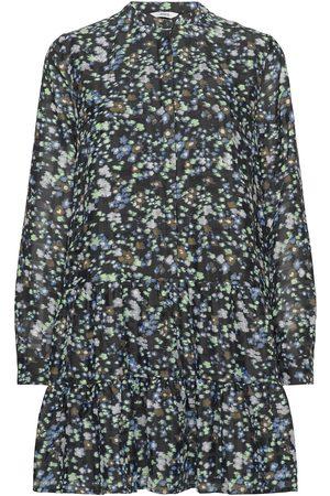 Envii Kvinna Klänningar - Enmagic Ls Sh Dress Aop 6716 Dresses Everyday Dresses Blå