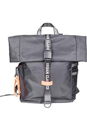 Urban classics Nylon ryggsäck ryggsäck 60 cm, 18 l, blk/neonorange