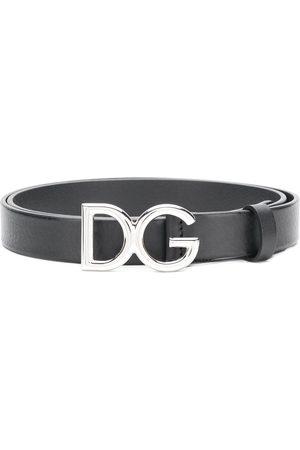 Dolce & Gabbana Man Bälten - DG Millennial skärp med logotyp