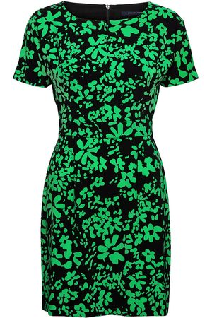 French Connection Florey Crepe Short Slv Dress