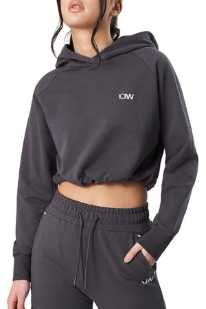 ICANIWILL Women's Adjustable Cropped Hoodie