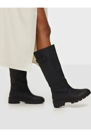 NLY Shoes Kvinna Boots - For All Sake Boot Flat Boots
