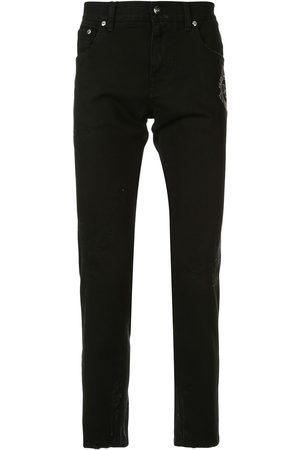 Dolce & Gabbana Skinny-jeans med broderad logotyp