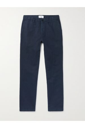 Mr P. Man Chinos - Cotton and Linen-Blend Chinos