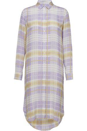 Samsøe Samsøe Rissy Shirt Dress Aop 8083 Knälång Klänning Multi/mönstrad