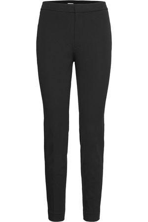 Filippa K Kvinna Dressade byxor - Cotton Stretch Trouser Byxa Med Raka Ben