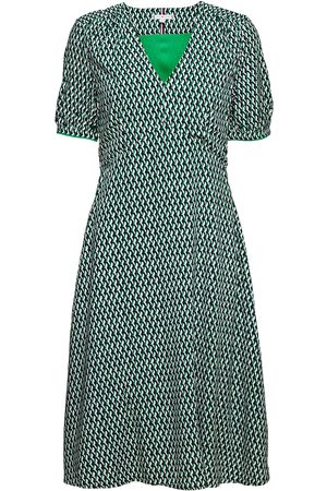 Tommy Hilfiger Vis Poplin F&F Knee Dress Ss Dresses Everyday Dresses