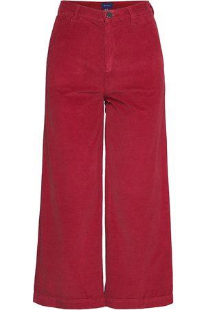 GANT Kvinna Utsvängda byxor - O1. Culottes Wide Cord Jeans Vida Byxor