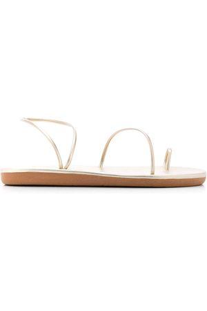 Ancient Greek Sandals Kvinna Sandaler - Kansiz platta sandaler