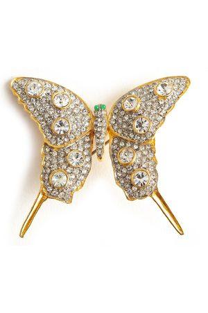 Kenneth Jay Lane Butterfly brooch