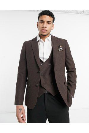 Harry Brown – Bröllop – Kavaj i ylletyg med smal passform