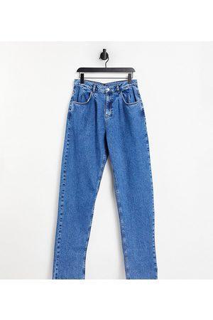 Reclaimed Vintage Inspired – Vintageblå jeans i 1983-års unisex-modell med avslappnad passform