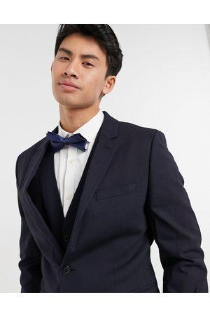 ASOS Man Kostymer - – Marinblå kostymjacka med smal passform
