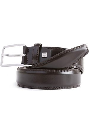 Piquadro Cintura con fibbia ad ardiglione