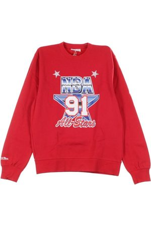 Mitchell & Ness Man Sweatshirts - Crewneck Sweatshirt ASG Crew Fleece ALL Star Game West 1991