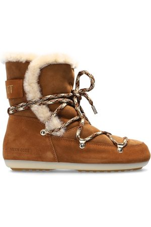 Moon Boot 'Dark Side High Shearling' snow boots