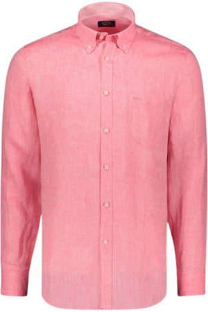 Paul & Shark Man Långärmade skjortor - Camicia