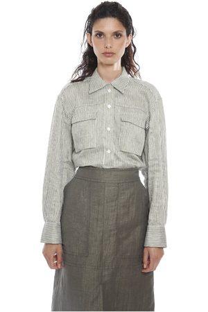 ELEVENTY Kvinna Skjortor - Camicia check