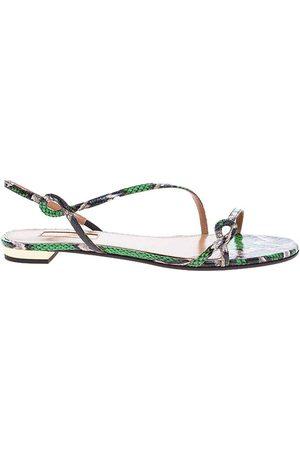 Aquazzura Kvinna Sandaler - Serpentine - Twisted Straps Sandals 10