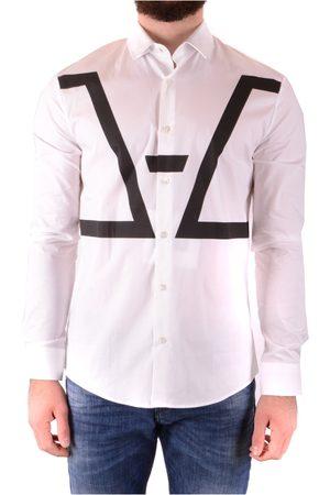 Les Hommes Man Långärmade skjortor - Shirt